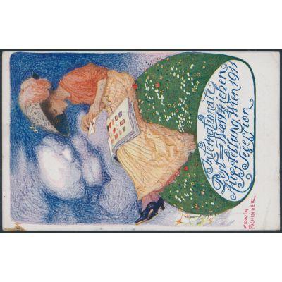 Privatpostkarte 1911