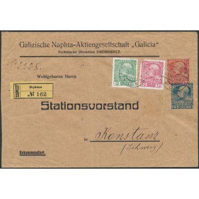 Privat-Umschlag 1910