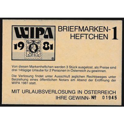 WIPA Heftchen 1981