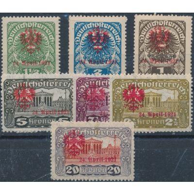 Lokalausgabe Tirol 1921