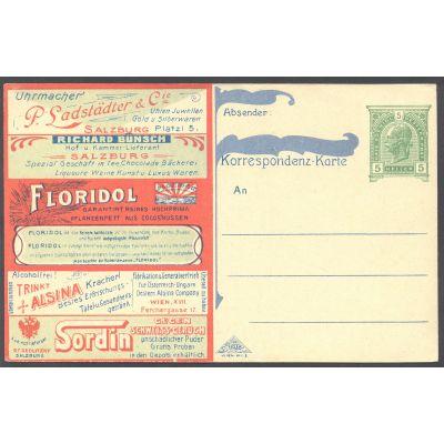 Privatpostkarte 1900