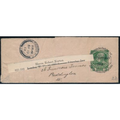 Streifband 1913