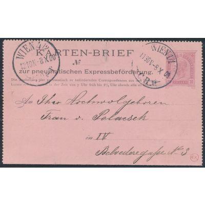 Rohrpost 1900