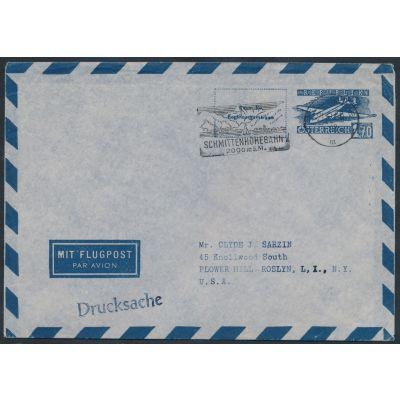 Luftpost-Umschlag 1950