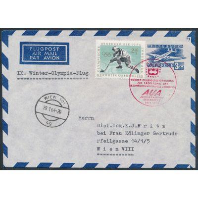 Luftpost-Umschlag 1960