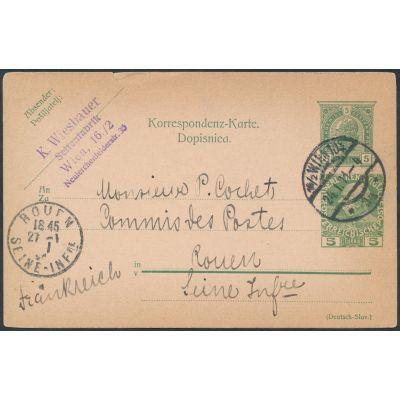Privatpostkarte 1910