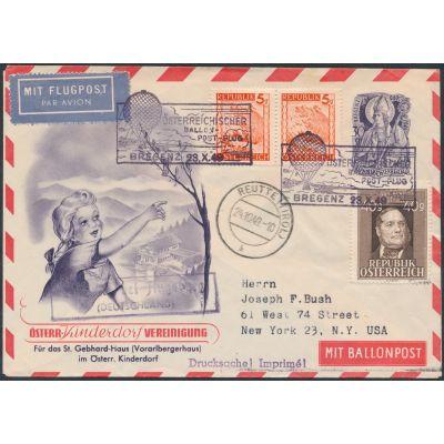 Privater Flugpost-Umschlag 194