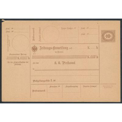 Steuer-Postanweisungen 1905