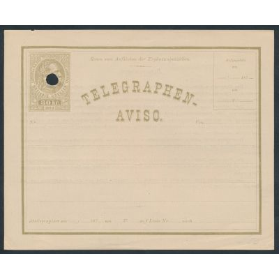 Telegrammblatt 1876