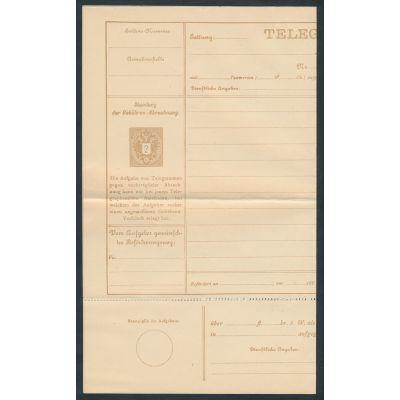 Telegrammblatt 1885