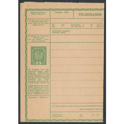 Telegrammblatt 1916