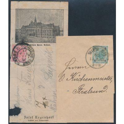 2 Auslandsbriefe