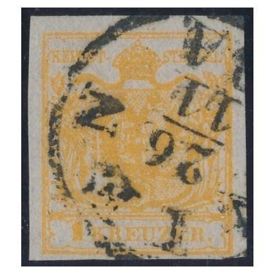 1 Kreuzer Seidenpapier