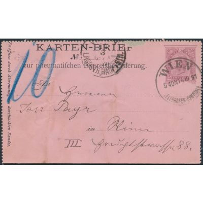 Rohrpost 1890
