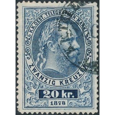 20 Kreuzer blau