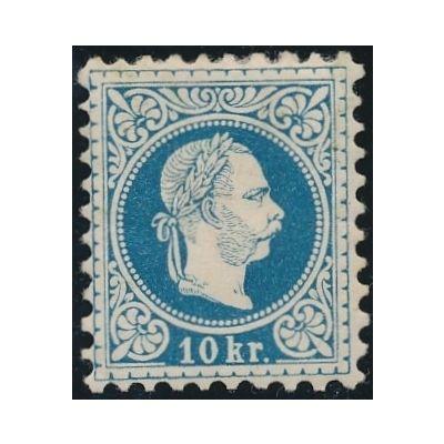 10 Kreuzer blau