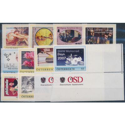 10 personalisierte Briefmarken