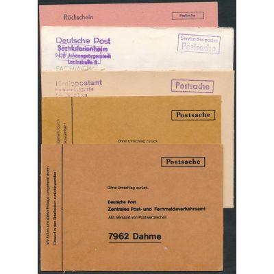 5 Postsachen