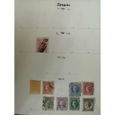 Serbien/Serbia 1876-1896
