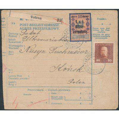Postbegleitadresse Wolbrom
