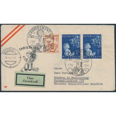 Christkindl 1954 in die DDR