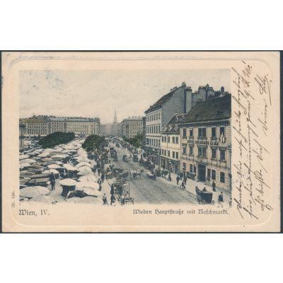 Wien Wieden, Naschmarkt