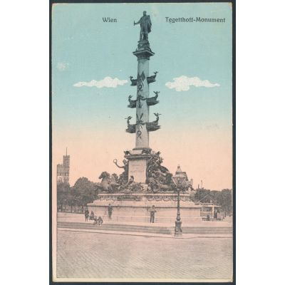 Wien Tegetthof Monument