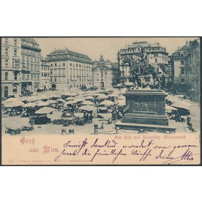 Wien Radetzky Denkmal
