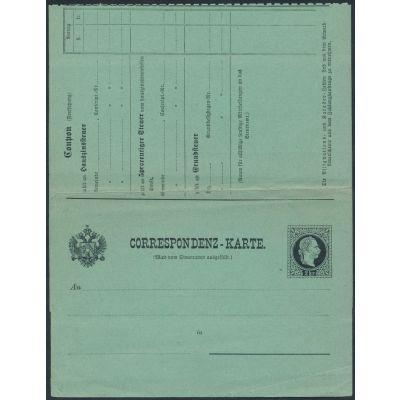 Steuer-Postanweisung, ANK 1 F