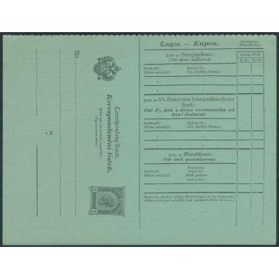 Steuer-Postanweisung, ANK 5