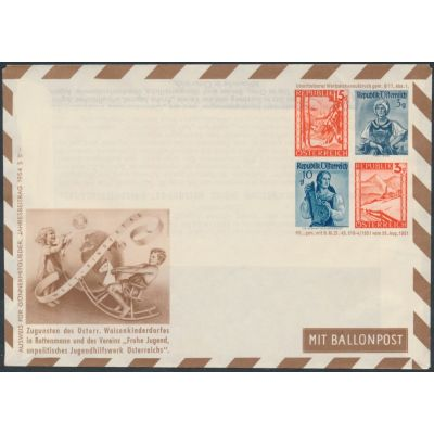 Privater Flugpost-Umschlag 1949