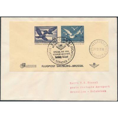 Flugpost-Adresszettel