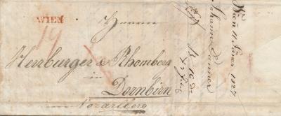 Auslandswährung auf Inlandbriefen